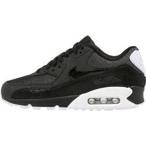 Nike Sportswear AIR MAX 90 PREMIUM Sneaker low black/white/metallic silver