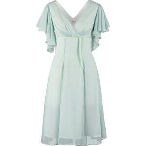 Swing Freizeitkleid weißgrün