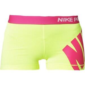 Nike Performance PRO 3´´ kurze Sporthose volt/hot pink