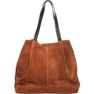 mint&berry Shopping Bag hazel brown