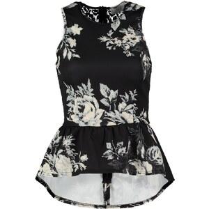 Closet Top black/white floral