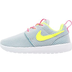 Nike Sportswear ROSHE ONE Sneaker pure platinum/volt/pink pow/blue lagoon