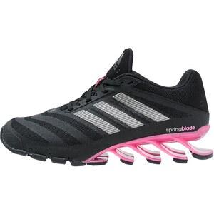adidas Performance SPRINGBLADE Laufschuh Dämpfung core black/iron metallic/solar pink