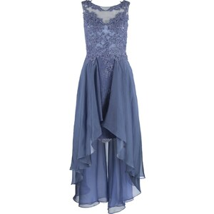 Luxuar Fashion Ballkleid graublau