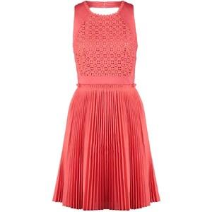 Derhy PILOU Cocktailkleid / festliches Kleid corail