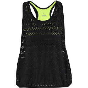 Nike Performance Top black/volt