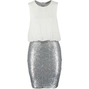 Miss Parisienne Blusenkleid silver