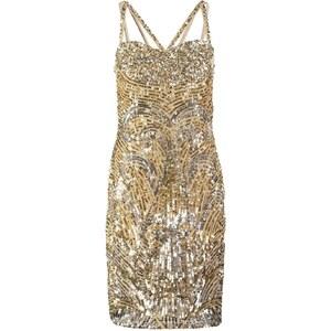 Virgos Lounge STEEL Cocktailkleid / festliches Kleid silver/gold