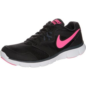 Nike Performance FLEX EXPERIENCE RUN 3 Laufschuh Leichtigkeit black/pink/classic charcoal/white