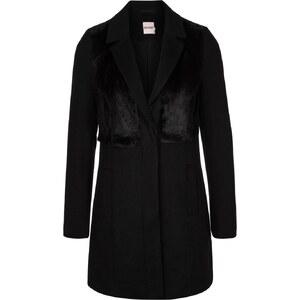 KIOMI Wollmantel / klassischer Mantel black