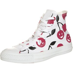 Converse CHUCK TAYLOR ALL STAR HI CHERRY Sneaker high white/days ahead/black
