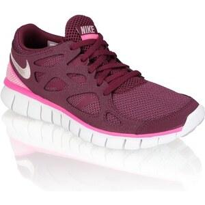 Free Run2 Nike bordeaux