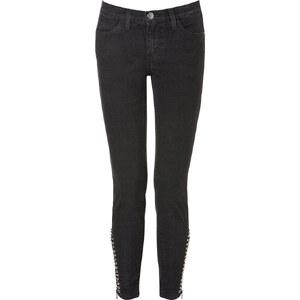 Current/Elliott The Zip Stiletto Skinny Jeans