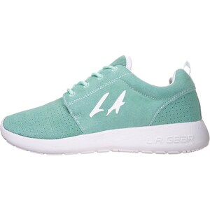 LA Gear SUNRISE Sneaker mint/white