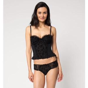 C&A Damen Panty aus Tüll in schwarz von Lingerie