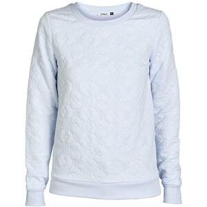 Only Gesteppt Sweatshirt, Arctic Ice