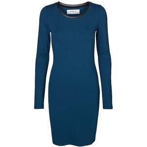 Vero Moda LEA LS SHORT DRESS BLUE