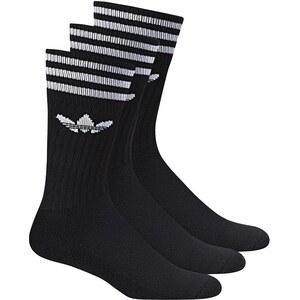 Adidas Originals Adidas Socken Dreierpack - SOLID CREW SOCK - Black-White Size 31/34