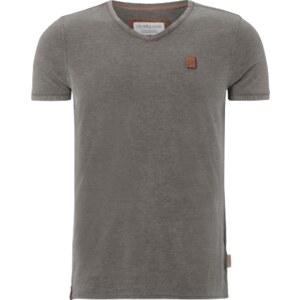 Naketano T-Shirt mit V-Ausschnitt