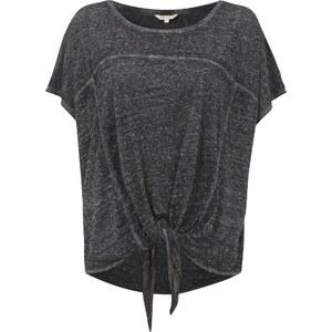 REVIEW Oversize Shirt mit Vorderseite zum Knoten