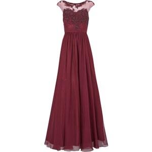 Luxuar Abendkleid mit Paillettenbesatz