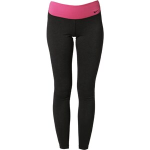 Nike Performance LEGEND 2.0 TRAINING Tights black heather/hot pink/ black