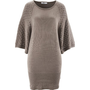bpc bonprix collection Long-Pullover (1/2-Arm) in beige für Damen von bonprix