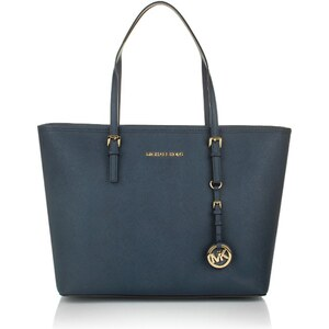 MICHAEL Michael Kors Jet Set Travel Tote Navy Handtasche