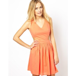 Love Cut-Out Waist Day Dress