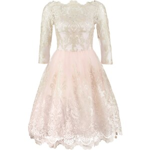 Chi Chi London Cocktailkleid / festliches Kleid rose
