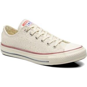 SALE - 10% - Converse - Chuck Taylor All Star Lurex Sparkle Ox W - Sneaker für Damen / beige