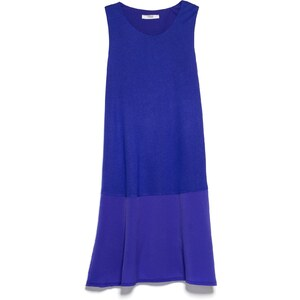 MANGO Kleid Mit Volantsaum