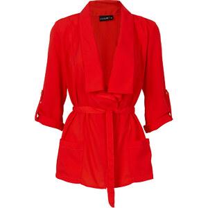 BODYFLIRT Blusen-Jacke in rot für Damen von bonprix