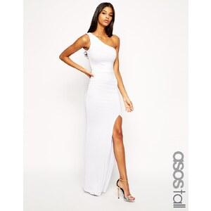 ASOS TALL - Exklusives, figurbetontes One-Shoulder-Maxikleid - Weiß 29,99 €