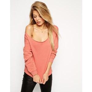 ASOS - Schulterfreies Sweatshirt