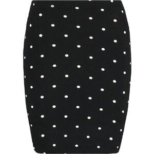 Even&Odd Minirock black dots