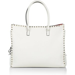 Valentino Tote Soft Leather Light Beige Handtasche