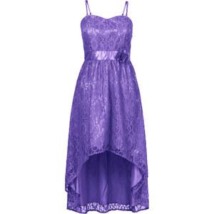 BODYFLIRT Spitzenkleid in lila von bonprix