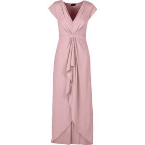 BODYFLIRT Maxikleid/Sommerkleid in rosa von bonprix