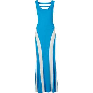 BODYFLIRT boutique Maxikleid in blau von bonprix