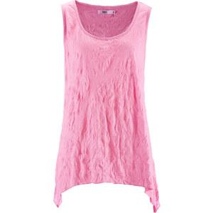 bpc bonprix collection Shirt-Top ohne Ärmel figurbetont in rosa (Rundhals) für Damen von bonprix