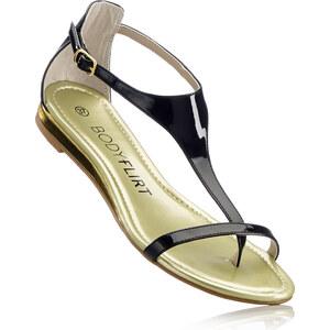BODYFLIRT Sandale in schwarz von bonprix