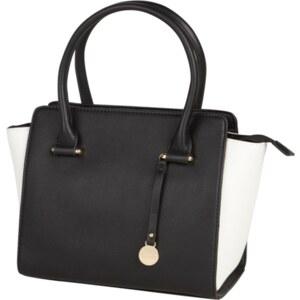 L.Credi Handtasche mit strukturierten Einsätzen