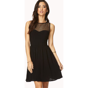 Forever 21 Statement-Making Fit & Flare Dress