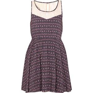 REVIEW Kleid mit grafischem Muster