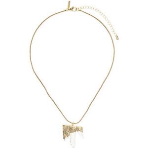 Topshop Halskette mit Scherbenanhänger - Transparent