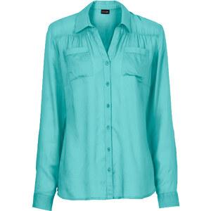 BODYFLIRT Bluse in grün von bonprix