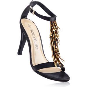 BODYFLIRT Sandalette mit 10 cm High-Heel in schwarz von bonprix