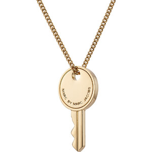 Marc by Marc Jacobs Lock-In Key Necklace