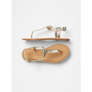 Gap T Strap Sandals - Champagne